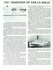 Page 6, 1986 Edition, La Salle (AGF 3) - Naval Cruise Book online yearbook collection