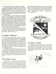 Page 7, 1986 Edition, La Salle (AGF 3) - Naval Cruise Book online yearbook collection