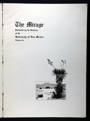 Page 7, 1917 Edition, University of New Mexico - Mirage Yearbook (Albuquerque, NM) online yearbook collection