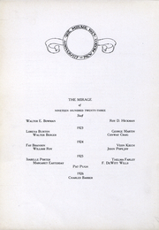 Page 12, 1923 Edition, University of New Mexico - Mirage Yearbook (Albuquerque, NM) online yearbook collection