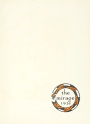 Page 7, 1932 Edition, University of New Mexico - Mirage Yearbook (Albuquerque, NM) online yearbook collection
