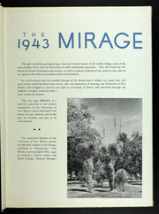 Page 7, 1943 Edition, University of New Mexico - Mirage Yearbook (Albuquerque, NM) online yearbook collection