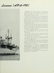 Page 7, 1958 Edition, Lenawee (APA 195) - Naval Cruise Book online yearbook collection