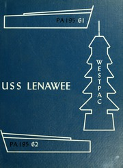1962 Edition, Lenawee (APA 195) - Naval Cruise Book