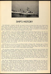 Page 7, 1966 Edition, Leonard Mason (DD 852) - Naval Cruise Book online yearbook collection