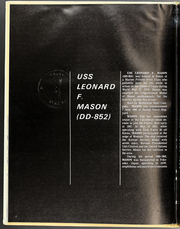 Page 6, 1972 Edition, Leonard Mason (DD 852) - Naval Cruise Book online yearbook collection