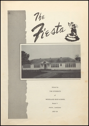 Page 7, 1954 Edition, Woodland High School - Fiesta Yearbook (Amite, LA) online yearbook collection