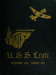 Page 1, 1950 Edition, Leyte (CV 32) - Naval Cruise Book online yearbook collection