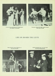 Page 14, 1950 Edition, Leyte (CV 32) - Naval Cruise Book online yearbook collection