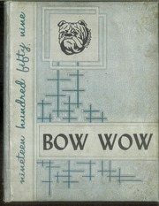 1959 Edition, Forest Hill High School - Bow Wow Yearbook (Forest Hill, LA)