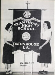 Page 12, 1955 Edition, St Anthony High School - Tone Yearbook (Baton Rouge, LA) online yearbook collection