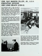 Page 11, 1984 Edition, Long Beach (CGN 9) - Naval Cruise Book online yearbook collection