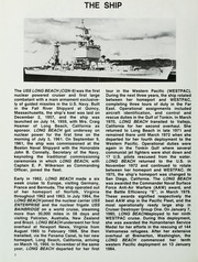 Page 6, 1984 Edition, Long Beach (CGN 9) - Naval Cruise Book online yearbook collection