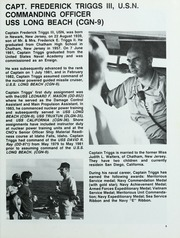 Page 9, 1984 Edition, Long Beach (CGN 9) - Naval Cruise Book online yearbook collection
