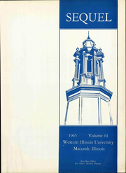 Page 7, 1965 Edition, Western Illinois University - Sequel Yearbook (Macomb, IL) online yearbook collection