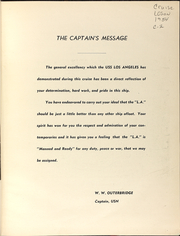 Page 5, 1954 Edition, Los Angeles (CA 135) - Naval Cruise Book online yearbook collection