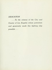 Page 17, 1958 Edition, Los Angeles (CA 135) - Naval Cruise Book online yearbook collection
