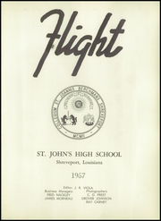 Page 5, 1957 Edition, St Johns High School - Flight Yearbook (Shreveport, LA) online yearbook collection