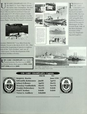 Page 11, 2000 Edition, Lake Champlain (CG 57) - Naval Cruise Book online yearbook collection