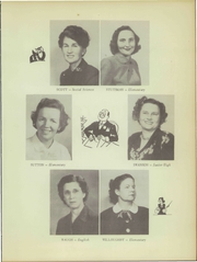 Page 15, 1950 Edition, Greenwood High School - Tadpole Yearbook (Greenwood, LA) online yearbook collection
