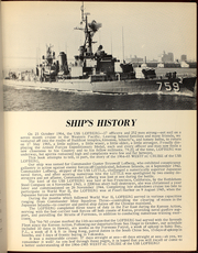 Page 9, 1965 Edition, Lofberg (DD 759) - Naval Cruise Book online yearbook collection