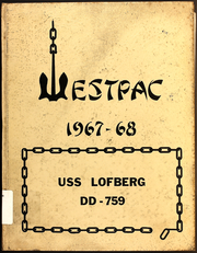 1968 Edition, Lofberg (DD 759) - Naval Cruise Book