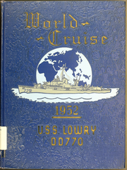 Page 1, 1952 Edition, Lowry (DD 770) - Naval Cruise Book online yearbook collection