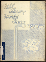 Page 1, 1954 Edition, Lowry (DD 770) - Naval Cruise Book online yearbook collection