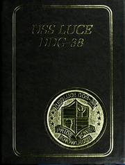 Page 1, 1988 Edition, Luce (DDG 38) - Naval Cruise Book online yearbook collection