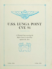 Page 11, 1945 Edition, Lunga Point (CVE 94) - Naval Cruise Book online yearbook collection
