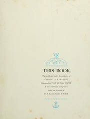 Page 7, 1945 Edition, Lunga Point (CVE 94) - Naval Cruise Book online yearbook collection