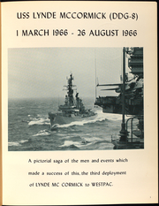Page 5, 1966 Edition, Lynde McCormick (DDG 8) - Naval Cruise Book online yearbook collection