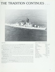 Page 7, 1989 Edition, Macdonough (DDG 39) - Naval Cruise Book online yearbook collection