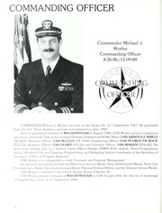 Page 8, 1989 Edition, Macdonough (DDG 39) - Naval Cruise Book online yearbook collection