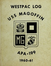 Page 1, 1961 Edition, Magoffin (APA 199) - Naval Cruise Book online yearbook collection