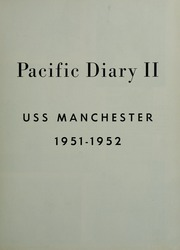 Page 7, 1952 Edition, Manchester (CL 83) - Naval Cruise Book online yearbook collection
