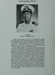 Page 8, 1982 Edition, Manley (DD 940) - Naval Cruise Book online yearbook collection
