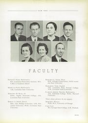 Page 11, 1941 Edition, University High School - Cub Yearbook (Baton Rouge, LA) online yearbook collection
