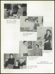 Page 10, 1959 Edition, University High School - Cub Yearbook (Baton Rouge, LA) online yearbook collection