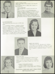 Page 13, 1959 Edition, University High School - Cub Yearbook (Baton Rouge, LA) online yearbook collection