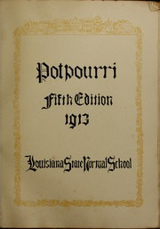 Page 7, 1913 Edition, Northwestern State University - Potpourri Yearbook (Natchitoches, LA) online yearbook collection