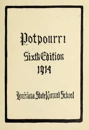 Page 7, 1914 Edition, Northwestern State University - Potpourri Yearbook (Natchitoches, LA) online yearbook collection
