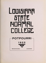 Page 7, 1922 Edition, Northwestern State University - Potpourri Yearbook (Natchitoches, LA) online yearbook collection