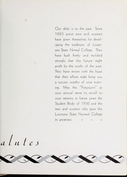 Page 13, 1936 Edition, Northwestern State University - Potpourri Yearbook (Natchitoches, LA) online yearbook collection
