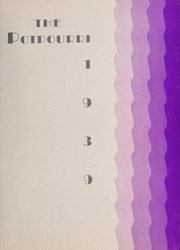 Page 5, 1939 Edition, Northwestern State University - Potpourri Yearbook (Natchitoches, LA) online yearbook collection