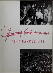 Page 13, 1947 Edition, Northwestern State University - Potpourri Yearbook (Natchitoches, LA) online yearbook collection