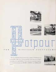 Page 6, 1958 Edition, Northwestern State University - Potpourri Yearbook (Natchitoches, LA) online yearbook collection