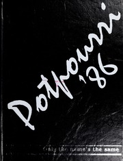 1986 Edition, Northwestern State University - Potpourri Yearbook (Natchitoches, LA)