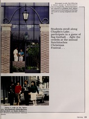 Page 17, 1988 Edition, Northwestern State University - Potpourri Yearbook (Natchitoches, LA) online yearbook collection