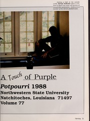 Page 5, 1988 Edition, Northwestern State University - Potpourri Yearbook (Natchitoches, LA) online yearbook collection